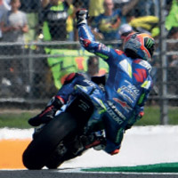Rins takes victory at Silverstone